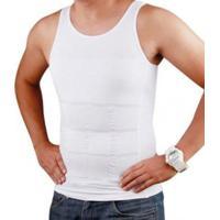 Colete Camiseta Regata Redutor De Medidas Masculino - Masculino