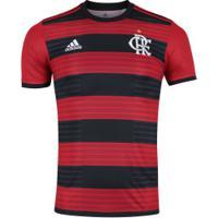 Camisa Do Flamengo I 2018 Adidas - Masculina - Vermelho/Preto