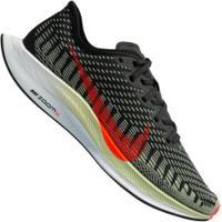 Tênis Nike Zoom Pegasus Turbo 2 - Masculino - Preto/Verde Escuro