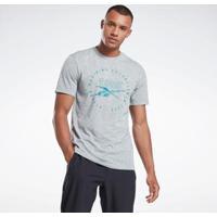 Camiseta Reebok Graphic Series Speedwick Masculina - Masculino