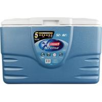 Caixa Térmica 52 Qt 49 Litros Xtreme Com Alça Lateral - Coleman Azul