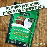 Vita Seiva Óleo De Coco Creme De Hidratação Profunda 30G
