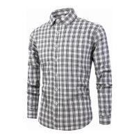 Camisa Xadrez Lexington Masculina - Preta E Branca