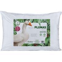 Travesseiro Toque De Pluma- Branco- 70X50Cm- Altaltenburg
