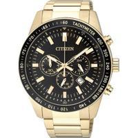 Relógio Analógico Citizen Tz30802U Masculino - Masculino-Dourado