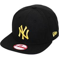 Boné New Era Aba Reta Snapback Mlb Ny Yankees Of Gold - Unissex