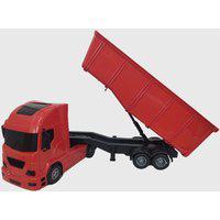 Caminhão De Areia Brinquedo Caçamba Basculante Vermelho