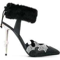 Philipp Plein Scarpin Decollete Luxury - Preto
