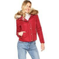Jaqueta Disparate Pelugem Vermelho