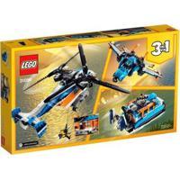 Lego Creator Helicóptero De Duas Hélices - Unissex-Incolor