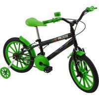 Bicicleta Infantil Masculina Aro 16 Polikids - Unissex