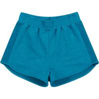 Short Com Recorte- Azul- Teenkamylu'S