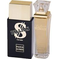 Billion Paris Elysees - Unissex - Eau De Toilette - Kits De Perfumes Kit - Unissex-Incolor