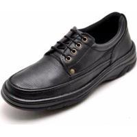 Sapato Conforto D&R Masculino - Masculino-Preto