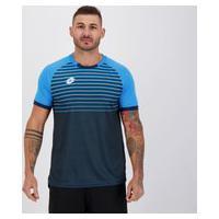 Camisa Lotto Colors Azul