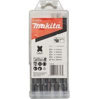 Kit Com 5 Brocas Sds Plus - D-61678 - Makita - Makita