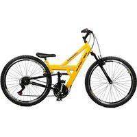 Bicicleta Master Bike Aro 26 Masculina Kanguru Style Rebaixada A -36 Amarelo