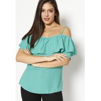 Blusa Lisa - Verde- Moiselemoisele