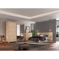 Dormitório Julia C/ Espelho Cedro Madeirado Robel Móveis