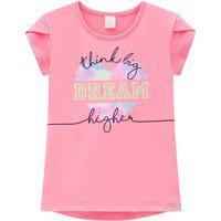 Blusa Infantil Dream Rosa Infanti 14 Rosa