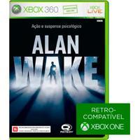Jogo Alan Wake Para Xbox 360 (X360) - Microsoft Studios