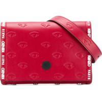 Kenzo Pochete Multi-Eye - Vermelho