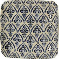 Prato De Parede Decorativo De Porcelana Ziway