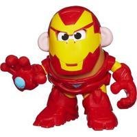 Mini Figura Transformável - Mr. Potato Head - Marvel - Iron Man - Hasbro - Disney - Unissex-Incolor
