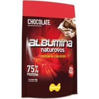 Albumina Pura 500Gr Com Sabor - Naturovos - Unissex-Chocolate