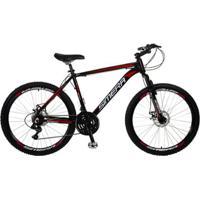 Bicicleta Aro 26 Simera 21V Freios A Disco Alumínio Shimano - Unissex