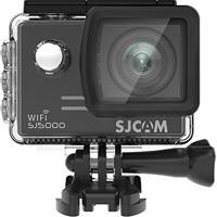 Câmera Sjcam Sj5000 Wifi Original Filmadora 14Mp Sports Dv Full Hd 1080P 30Fps A Prova D´Água 30M Mergulho Lcd 2.0 Bike Moto Surf - Preta