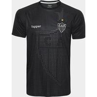 Camisa Aquecimento Atlético-Mg Topper Masculina - Masculino