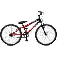 Bicicleta Master Bike Aro 24 Masculina Ciclone Vermelho