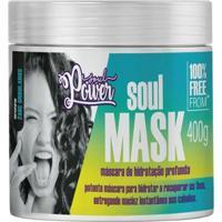 Máscara De Hidratação Profunda Soul Power - Soul Mask 400G - Unissex-Incolor