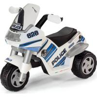 Mini Moto Elétrica - Raider Police 6V - Peg-Pérego