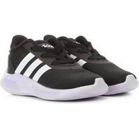 Tênis Infantil Adidas Lite Racer 2.0 - Unissex-Preto+Branco