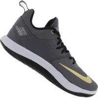 Tênis Nike Fly By Low Ii - Masculino - Cinza Esc/Ouro
