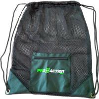 Bolsa Gym Mesh Em Material Resistente E Durável 35X45Cm Proaction G179 - Unissex