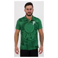 Polo Palmeiras Logo Effect Verde