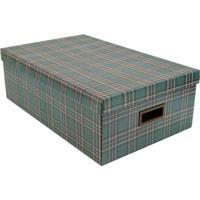 Caixa Organizadora Winter - Verde Escuro & Marrom Escuroboxmania
