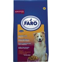 Ração Faro Com Adição De Carne, Fígado E Vegetais Para Cães Adultos 1Kg