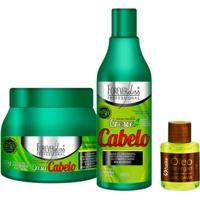 Kit Forever Liss Cresce Cabelo + Oleo Argan 7Ml - Feminino