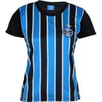 Camisa Grêmio Dry Tricolor Feminina - Feminino