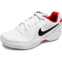 Tênis Nike Zoom Resistance Branco/Vermelho