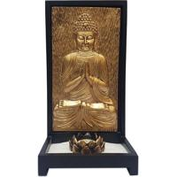 Porta-Vela Zen C/ Buda Dourado