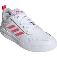 Tênis Infantil Adidas Tensaur K - Unissex-Branco+Rosa