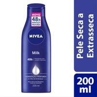 Hidratante Desodorante Nivea Milk Pele Seca A Extrasseca 200Ml