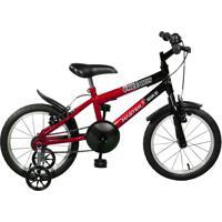 Bicicleta Master Bike Aro 16 Masculina Free Boy Vermelho