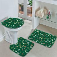Jogo Tapetes Para Banheiro Merry Christmas