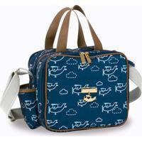 Bolsa Sacola Térmica Organizadora - 28X25X18 Cm - Coleção Avião - Masterbag